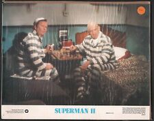 Superman II (2) Original Lobby Card #1 Lex Luthor 1980 Christopher Reeve