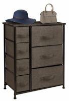 Dresser Bedside 7 Drawers, Furniture Storage Tower Unit for Bedroom, Office
