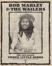 Bob Marley '45 advert 1980 TRANSPARENT