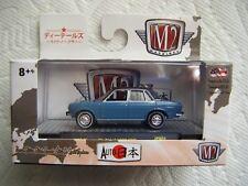 M2 AUTO-JAPAN REL JPN01 1969 NISSAN BLUEBIRD 1600 SSS 9,888PCS {BLUE}