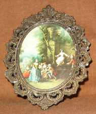 "Vintage Action Frame ""Family under a Tree"" Made in Italy"