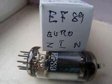 Ef89 z&i euro Nuevo Viejo Stock válvula de tubo J14