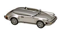 AUTO 1:43 SOLIDO PORSCHE 911 SPEEDSTER RACE 1987 GRIGIO METALLIZZATO   43225