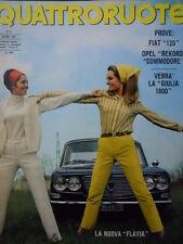 Quattroruote n°138 1967  - Test su strada Opel Rekord & Commodore  [Q79B]