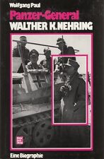 PANZER GENERAL WALTHER NEHRING - WW2 BIOGRAPHY / MILITARY HISTORY BOOK in GERMAN