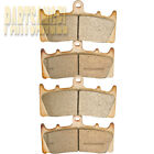 Front Sintered Brake Pads for 1996-2001 2000 1999 98 Kawasaki ZX-9R ZX900 Ninja