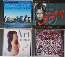 4 Musik CD's Konvolut Steely Dan Silly Art Noise Melissa Etheridge CDK3