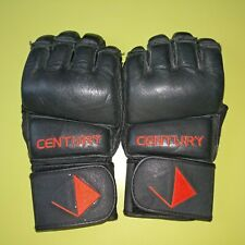 Century Gold Label Mixed Martial Arts Gloves Black/Red Size Medium