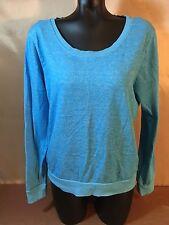 Wet Seal Women's Blue Long Sleeve Sweatshirt Sz XL J7