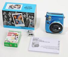 Fuji Instax Mini 70 bleu + cartouche 10 vues