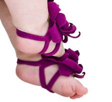Baby Flower Feet Barefoot Sandals Pre-Walkers