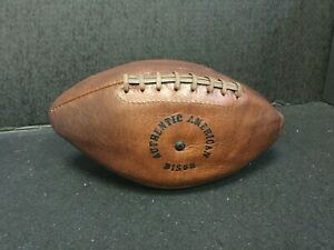 AUTHENTIC AMERICAN BISON Football RARE VINTAGE