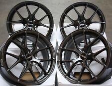 "Alloy Wheels x4 18"" Gunmetal CRUIZE GTO for 5x110 Opel Astra Corsa Meriva Zafira"