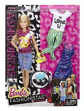 BARBIE FASHIONISTAS PEACE & LOVE DOLL & ACCESSORIES #35 *NEW*