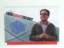 JOHNNY GALECKI BIG BANG WARDROBE CARD, COA & MYSTERY GIFT'
