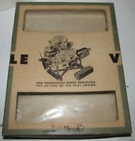 Inner Box Only for the 1960 Renwal The Visible V8 Model Kit