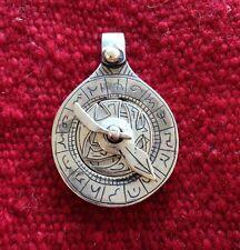 Vintage Moroccan Islamic Astrolabe Pendant Functional Beautiful