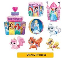 "DISNEY PRINCESS Foil BALLOONS (SuperShape/Kids/Birthday/Party/Foil/18""/Latex)"