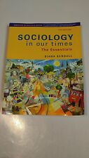 Sociology in our times the essentials annotated instructor's edition 7th edition