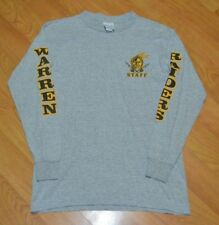 Warren G Harding High School Raiders Staff Long Sleeve T Shirt Medium OH Nice