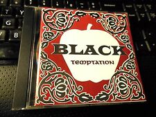 Temptation by Black (CD 1995 Delinquent) RARE OOP heavy metal