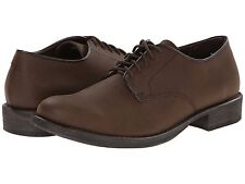 Men's * Eastland * Perry Plain Lace Up Oxford Shoe Bomber Brown Leather
