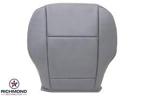 2019 2020 Ford Transit 150 250 350 Van -Driver Side Bottom Vinyl Seat Cover Gray