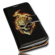 Design No.5 Book Style Handy Tasche Cover Case für Samsung i9500 i9505 Galaxy S4