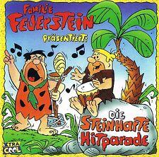 """FAMILIE FEUERSTEIN  """"Die steinharte Hitparade"""" BMG Ariola 1997 CD OVP & NEU"""