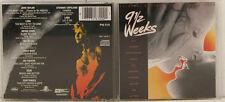 9 1/2 WEEKS ORIGINAL MOTION PICTURE SOUNDTRACK CD ALBUM (e1823)