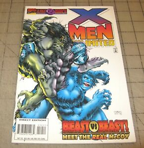 X-MEN UNLIMITED #10 (March 1996) VF Condition Comic - Beast vs Beast Real McCoy