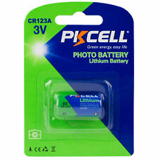 PKCELL CR123A Lithium Battery