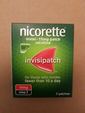 nicorette invisipatch nicotine 15mg step 2 patch 7