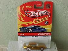 Hot Wheels Classics Series 5 Studebaker Avanti Orange Chase rubber tires