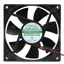 EVERCOOL PC Computer Case System Cooling Fan Cooler 92mm 4Pin 92x92x25mm 9.2cm
