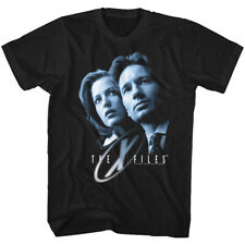 The X Files Science Fiction Tv Show Scully & Mulder Adult T Shirt