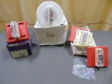 4 New Wheelock Fire Strobe Siren Speaker Alarm Modules Assortment