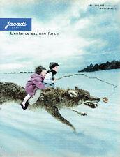 PUBLICITE ADVERTISING 016  2003  Jacadi   vetemets manteaux enfants