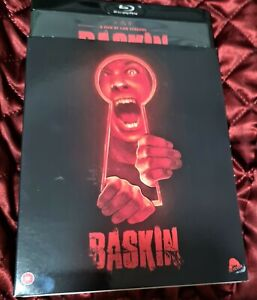 Baskin(blu ray,2018)LIKE NEW. region free with cover. horror