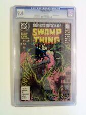Swamp Thing v2 #53 DC 1986 CGC 9.4 NM Alan Moore Batman Arkham Asylum 48 pages