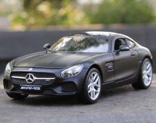 Maisto 1:24 Mercedes Benz AMG GT Diecast  Metal Model Car New Matte Black