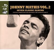 "JOHNNY MATHIS  4-CD Boxset  ""Seven 7 Classic Albums Vol 2"" * NEW * 84 Orig Songs"