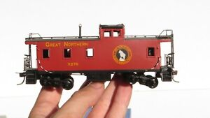 Overland HO Brass Great Northern 1945 Steel Caboose w/ Box