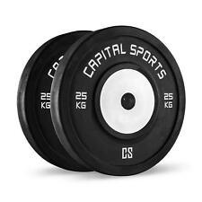 Coppia Dischi Pesi Palestra Competizione Weight Bilanciere Body Building 2X25Kg