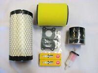 Kawasaki Mule 3000 3010 3020 Tune Up Kit Filters, Carb Rebuild Kit, Spark Plugs