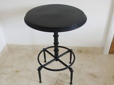 industrial vintage retro chair steel bar table stylish black distressed dining