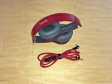 Genuine Beats by Dr. Dre Solo HD Casque Rouge Édition Spéciale-Excellent