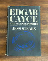 Edgar Cayce - The Sleeping Prophet by Jess Stearn (Vintage Hardcover)