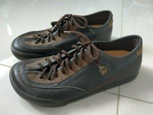 Birkenstock Footprints Dayton Leather Lace Up Shoes Size 40 VGC