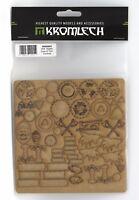 Kromlech KRMA053 Sons of Thor Symbols HDF Glyphs (1 Sheet) Wolf Viking Rune Bits